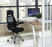 Bureaustoel | Draaibaar | Ergonomisch | Mesh | Arm
