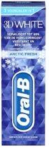 Oral-B Tandpasta – 3D White Arctic Fresh - 75ml
