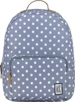 The Pack Society Print Classic - Rugzak - Grey With / White Dots