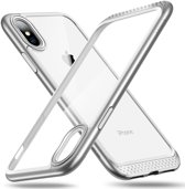 iphone X / iPhone Xs Max bumper hoesje ESR Hoop Lite – 2 lagen bescherming & extra bescherming voor camera – Zilver