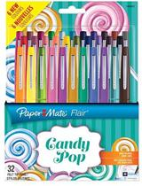 Papermate Flair Candy Pop viltstift Medium Multi kleuren 32 stuk(s)