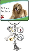 Little Gifts sleutelhanger Golden Retreiver