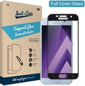 Just in Case Full Cover Tempered Glass Samsung Galaxy A5 (2017) Protector - Black