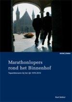 Marathonlopers rond het Binnenhof