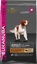 Eukanuba Dog Adult - Small & Medium Breed - Lam/Rijst - Hondenvoer - 12 kg