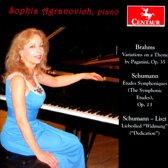 Paganini Variations, Books I And Ii, Op. 35 / Etud