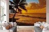 Fotobehang Pacific Sunset - 366 x 254 cm - Multi