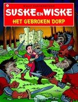 Omslag van 'Suske en Wiske 327 - Het gebroken dorp'