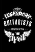 Legendary Guitarists Are Born in April