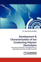 Development & Characterization of Ion Conducting Polymer Electrolytes