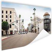 Rodeo Drive Los Angeles Poster 120x80 cm - Foto print op Poster (wanddecoratie)