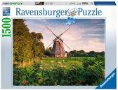 Ravensburger puzzel Windmolen aan de Oostzee - Legpuzzel - 1500 stukjes