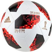 adidas World Cup Knockout Top Glider Voetbal Heren - White/Solar Red/Black