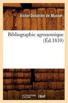 Bibliographie Agronomique ( d.1810)