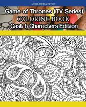 Game of Thrones (TV Series) Coloring Book Cast & Characters Edition
