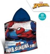 Spiderman badponcho 50 x 100 cm