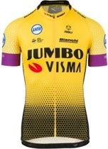 Team Jumbo-Visma Replica Fietsshirt - Heren - Geel/Zwart