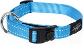 Rogz For Dogs Fanbelt Hondenhalsband - 20 mm x 34-56 cm - Turquoise