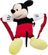 Disney Mickey Mouse Rugzak - Kinderen - Zwart/Rood