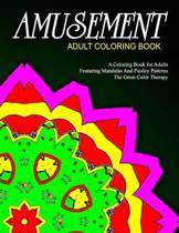 Amusement Adult Coloring Book - Vol.1