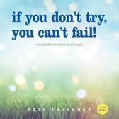 If You Don't Try, You Can't Fail! 2020
