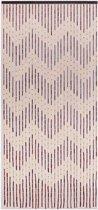 Vliegengordijn/deurgordijn houten kralen Mekong 90x200