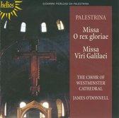 Palestrina: Missa Viri Galilaei & O Rex Gloriae