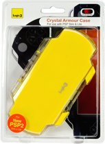 Yellow Crystal Armour Case & Stand Psp Slim & Lite