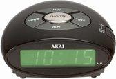 Akai AR10 - Wekker - Zwart