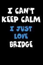 I Can't Keep Calm I Just Love Bridge