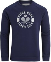 SUMMER TENNIS CLUB CREW SWEATER - Maat L