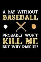 A Day Without Baseball Probably Won't Kill Me But Why Risk It?