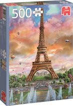 Eiffel Tower France Premium Collection Jumbo Puzzel 500 Stukjes