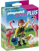 Playmobil Dierenverzorger met Exotische Vogels - 4758