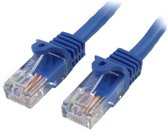 StarTech.com Cat5e Ethernet netwerkkabel met snagless RJ45 connectors UTP kabel 10m blauw