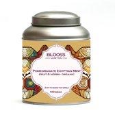 Pomegranate Egytptian Mint - organic | fruit melange | losse thee | 100g