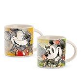Disney Mickey Mouse espresso tassen 2 stuks