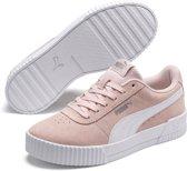 PUMA Carina Dames Sneakers - Rosewater-Puma White-Puma Silver - Maat 34.5