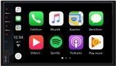 Autoradio dubbel din usb Apple carplay DAB+ digitale radio met raam antenne