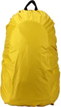 Universele backpack/rugzak regenhoes 35L - Geel
