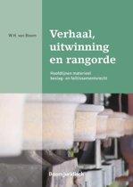 Boom Juridische studieboeken - Verhaal, uitwinning en rangorde