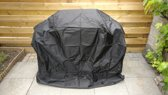 BBQ Hoes - Barbecue beschermhoes - Waterdicht - 145x60x120 cm - Trekkoord - Ventilatie - Handvatten - Zwart