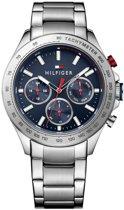 Tommy Hilfiger TH1791228 horloge heren - zilver - edelstaal