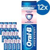 Oral B Pro-Expert Gevoelige Tanden & Whitening - Voordeelverpakking 12x75ml - Tandpasta