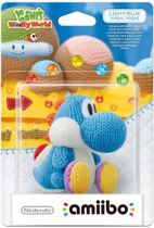 Nintendo amiibo figuur - Light Blue Yarn Yoshi (WiiU + New 3DS + Switch)