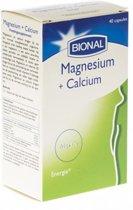 Bional Magnesium + Calcium 40 tabletten