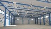 Ecosun Heatstrip 900 RAL 9010 ideaal voor industriële ruimtes en showrooms