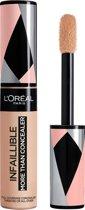 L'Oréal Paris Infaillible More Than Concealer - 324 Oatmeal - Dekkend