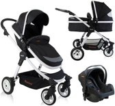 Baninni Kinderwagen Ayo 3 in 1 Black 'n White