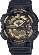 Casio AEQ-110BW-9AVEF - Horloge - Goud/Zwart